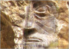 Skulptur eines Künstlers aus Aspra, Sizilien