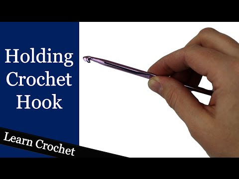 How To Hold A Crochet Hook @ Crochet Treasures