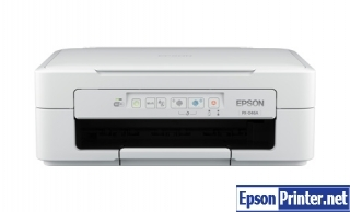 How to reset flashing lights for Epson PX-046A printer