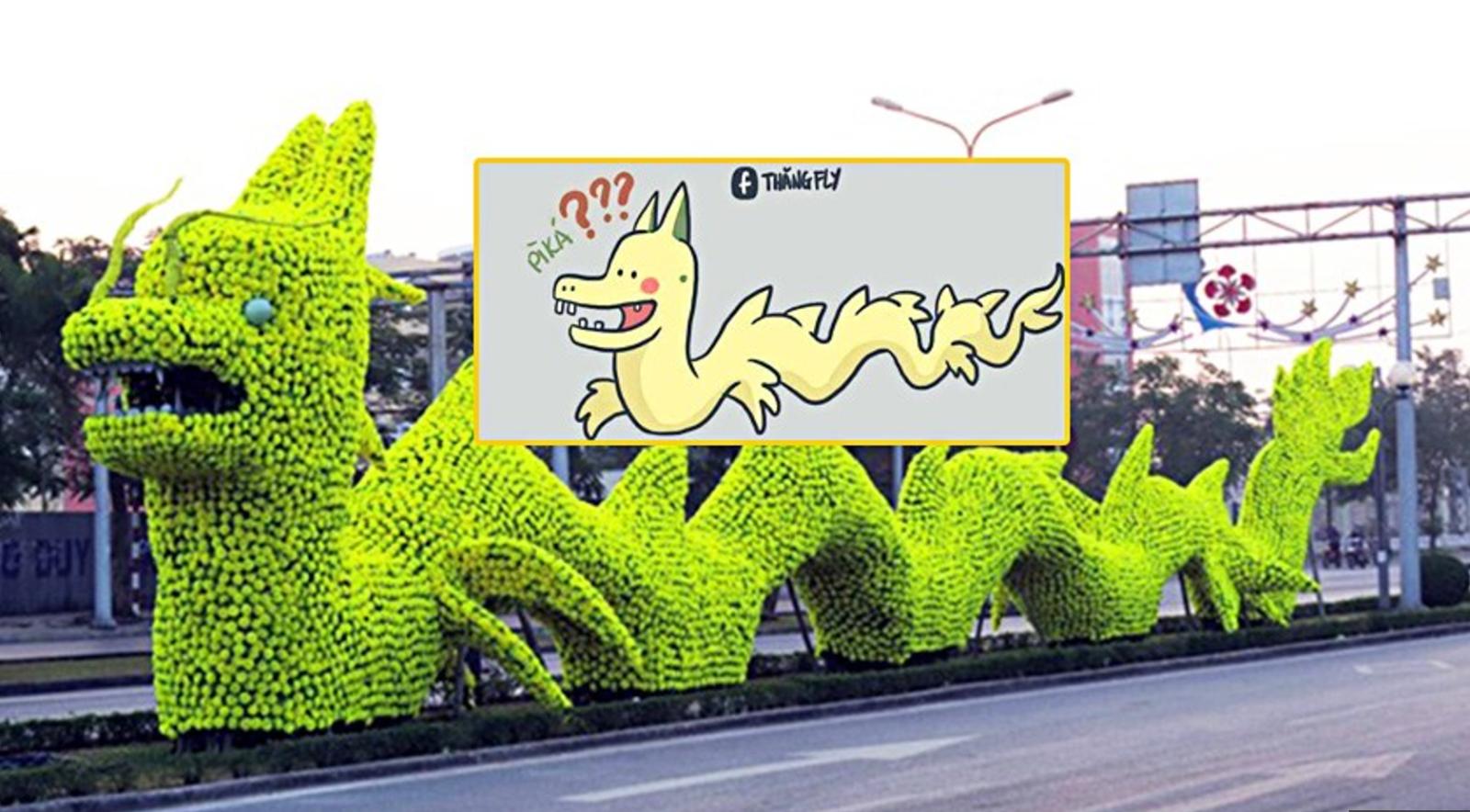 Rồng pikachu Hải Phòng