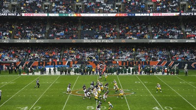 bears packers empty seats