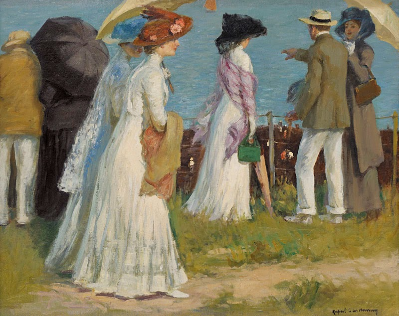 Rupert Bunny - The Cliff Path