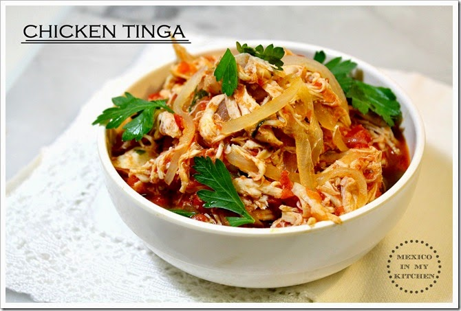 Making Chicken tinga the right way | Mexican Recipes
