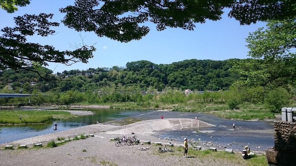 羽村堰の写真