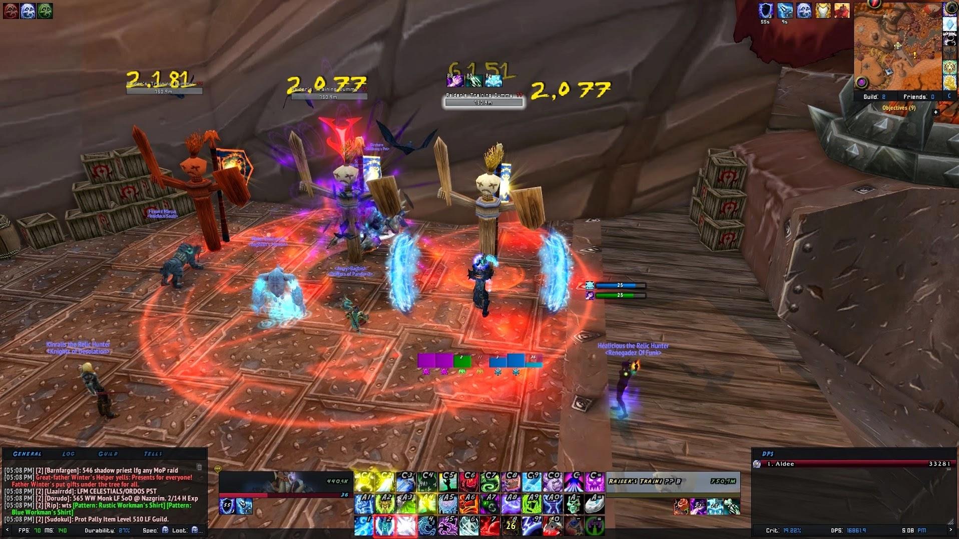 World of Warcraft ElvUI