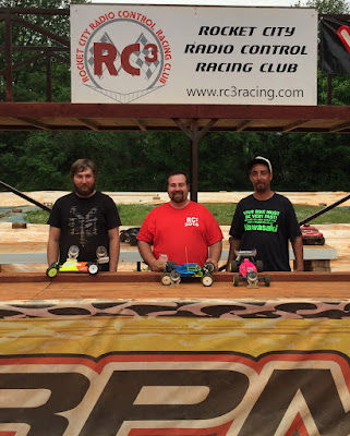 2WD Buggy Mod - 1st: Daniel Myers, 2nd: Spencer Glasgow, 3rd: Javier Caballero, TQ: Spencer Glasgow