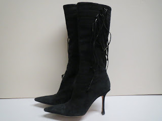 Jimmy Choo Suede Calf Boots
