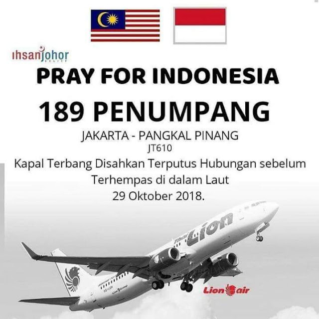 PRAY FOR JT610