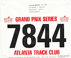 ATC Hearts and Soles 5K Race Bib - Mike