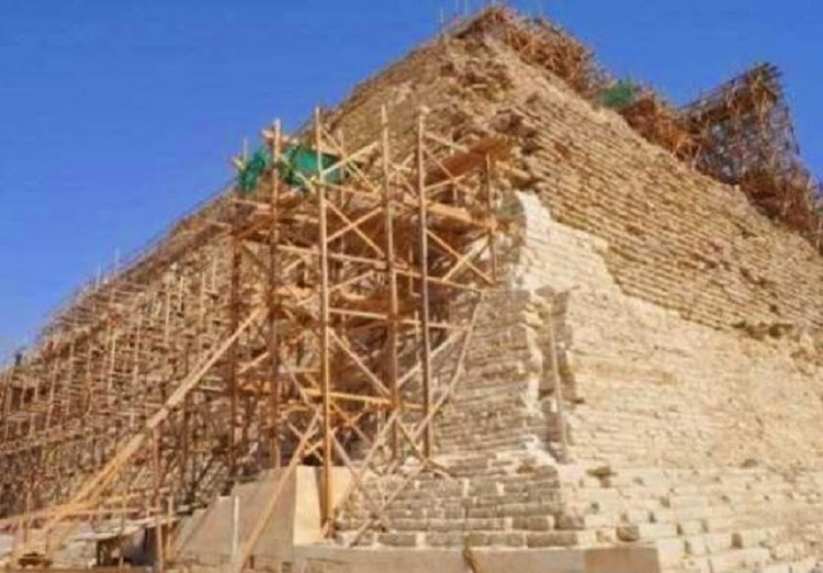 Heritage: Egypt's Step Pyramid at risk of 'catastrophic collapse'