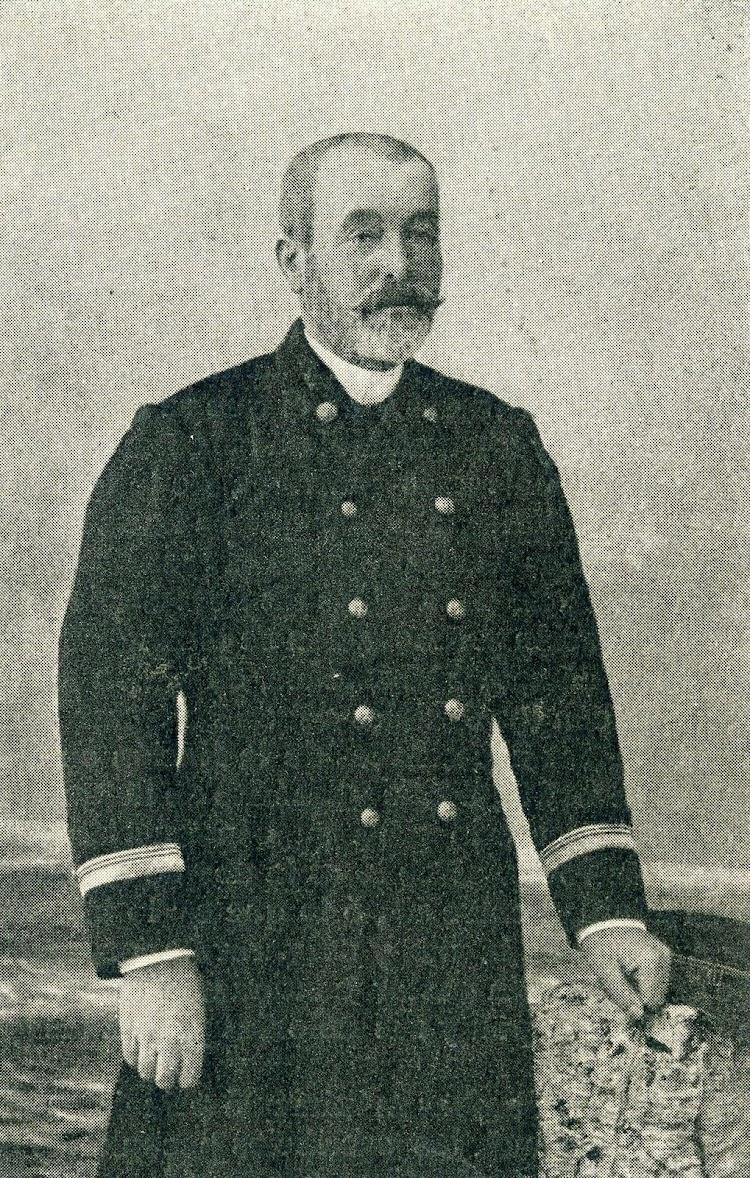 El valiente capitán D. Antoni Roldós i Baleta. De Vilassar de Mar. Foto EL MUNDO NAVAL ILUSTRADO. Año 1898.JPG