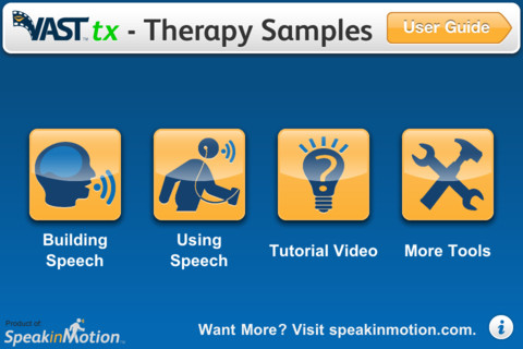VASTtx - Therapy Samples Main Page