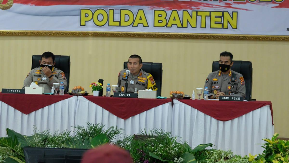 Selama Setahun, Polda Banten Berhasil Amankan 965 Orang Pelaku Kasus Narkoba