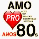 Anos 80 Internacionais Músicas Românticas Vrs PRO icon