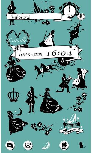 かわいい壁紙・アイコン-シンデレラ・ストーリー-無料きせかえ