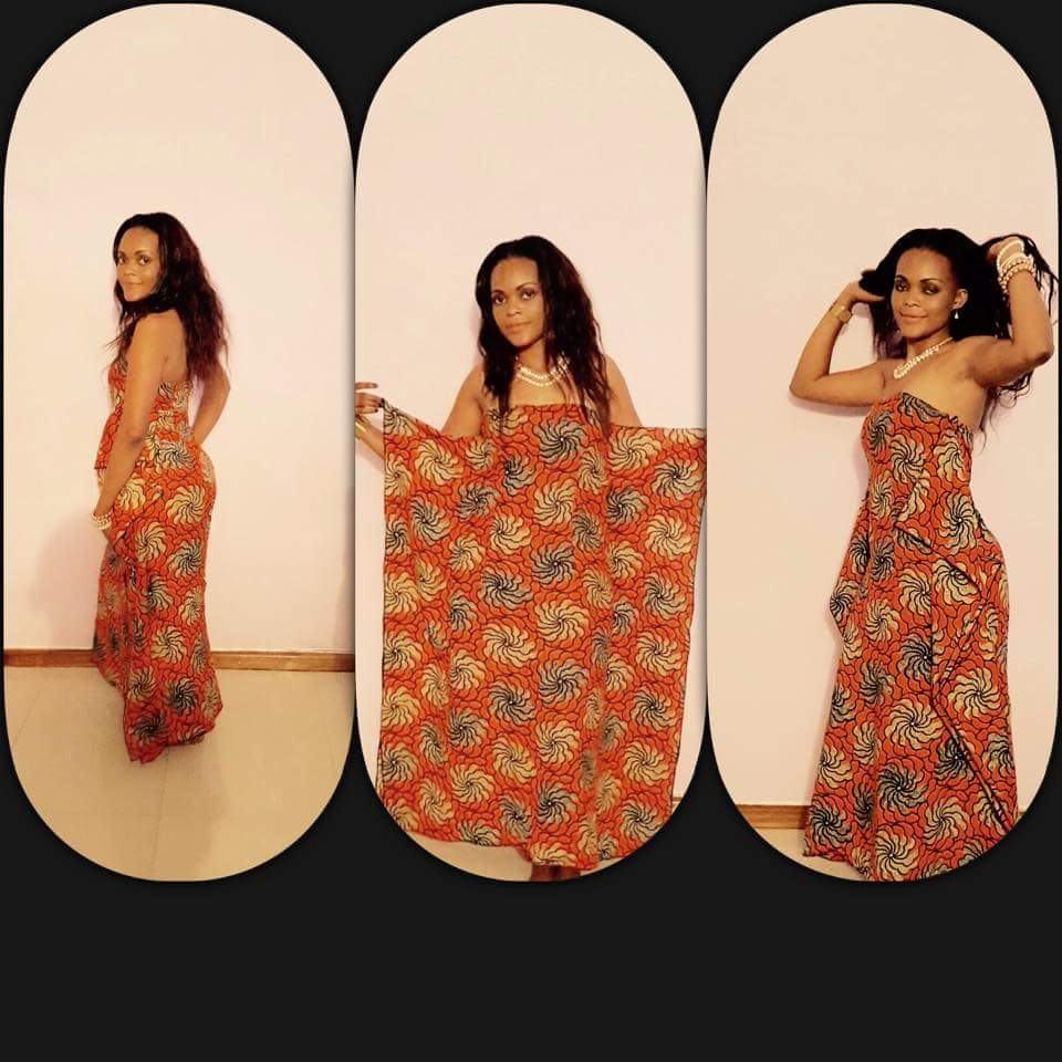 Zambian Chitenge Fashion Dresses