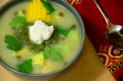 food for scot: Ajiaco (Colombian Chicken and Potato Soup)