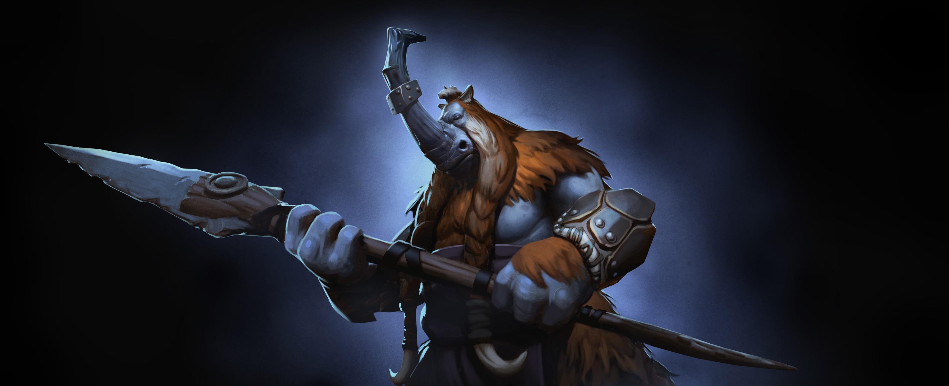 Loạt ảnh nguyên họa của các hero trong DotA 2 - Ảnh 33
