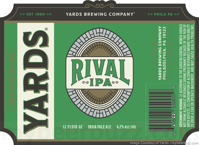 Yards Updating Rival IPA Packaging
