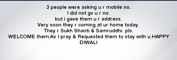 Hindi Diwali SMS Wallpapers