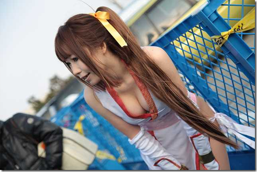 dead or alive cosplay - kasumi 4 from comiket 2009