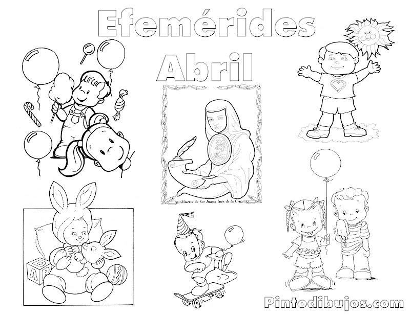 Efemerides De Abril En Mexico Para Imprimir