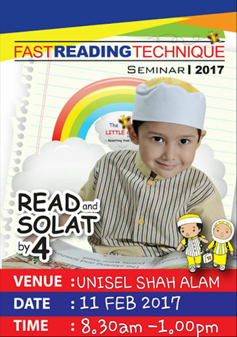 LITTLE CALIPH FAST READING TECHNIQUE SEMINAR 2017 2