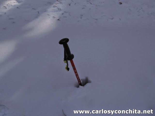Mucho grueso de nieve !