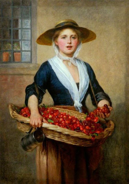 William Frederick Yeames - Cherry Ripe