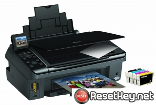 Reset Epson SX410 printer Waste Ink Pads Counter
