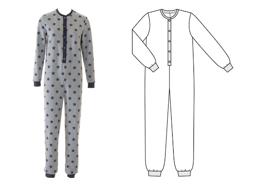 Burda dergisi Aralık 2016 tulum pijama
