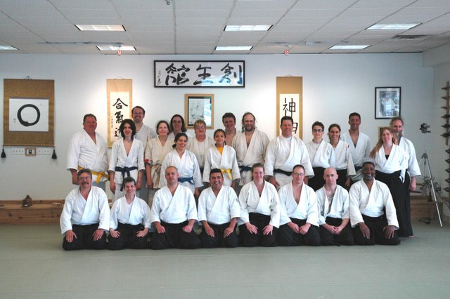 Sensei Ed Germanov at Soseikan Dojo - June 19th through 21st 2009