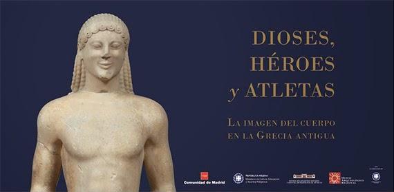 Exposición 'Dioses, héroes y atletas. La imagen del cuerpo en la Grecia antigua'