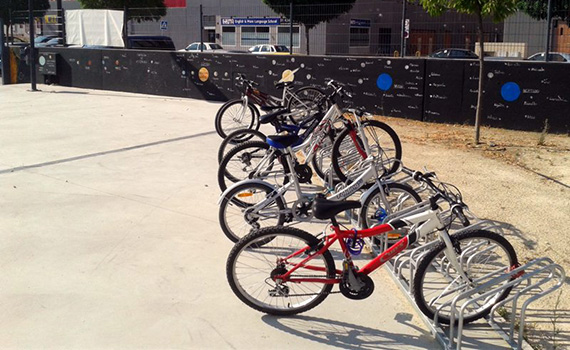 Espacio para la auto-reparación de bicicletas en la Casa de la Juventud de Parla