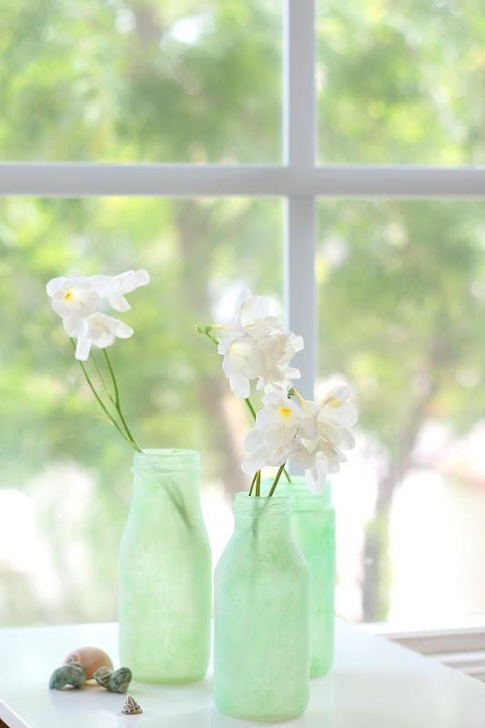 DIY Green Sea Glass via homework (2)