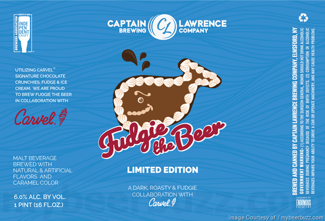 Captain Lawrence Fudgie The Beer Coming 6/15
