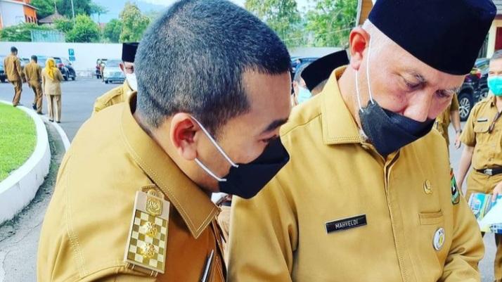 Vaksin di Sumbar Cukup, Gubernur Imbau Kabupaten Kota Gencarkan Vaksinasi
