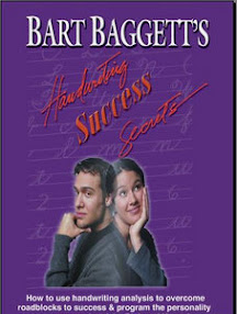 Cover of Brian Moreland's Book Handwriting Success Secrets
