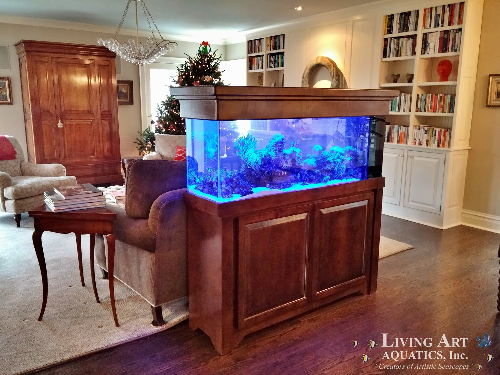 Perfekt Wood Home Aquarium Residential
