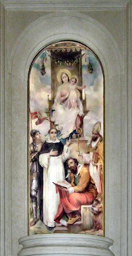 Pala d'altare nel Duomo di San Donà di Piave: San Vincenzo Ferreri