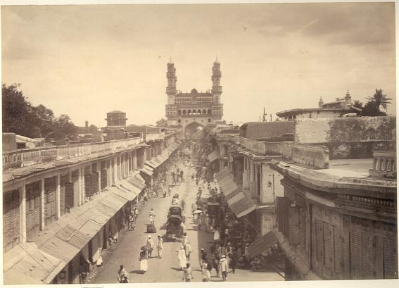 Hyderabad - Rare Pictures - charminar1880sa.jpg