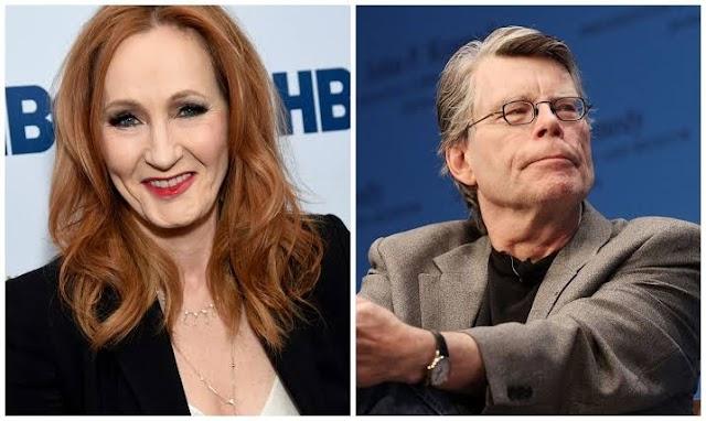 Em meio a polêmicas, JK Rowling recebe elogios de Stephen King