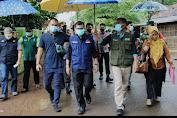 Banyak Warga Meninggal Karena Covid, Kang Akur Lakukan Kunjungan Ke Desa Kihiyang Kecamatan Binong
