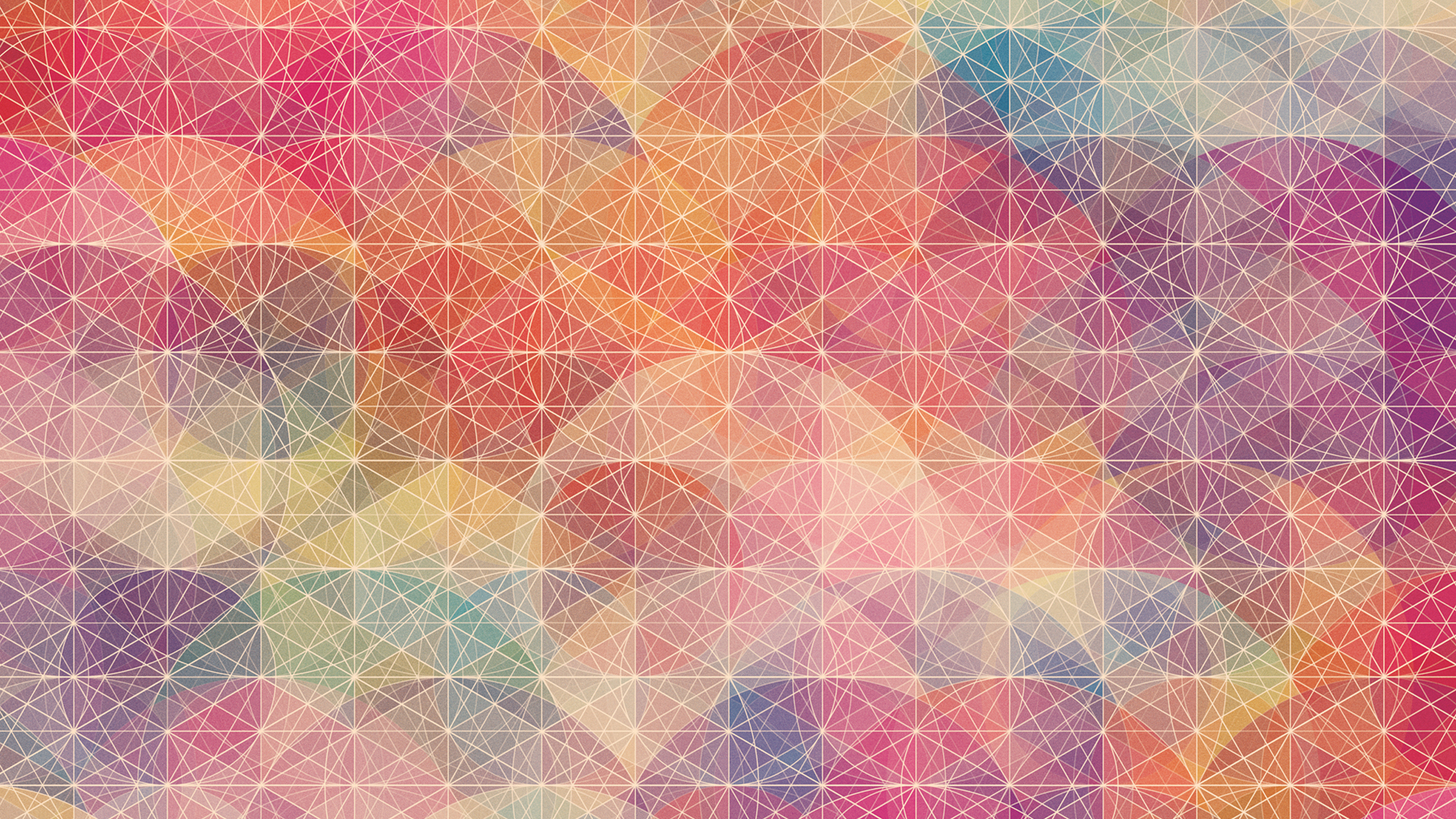Isometric and geometry inspired desktop wallpapers - Geometric desktop background ...