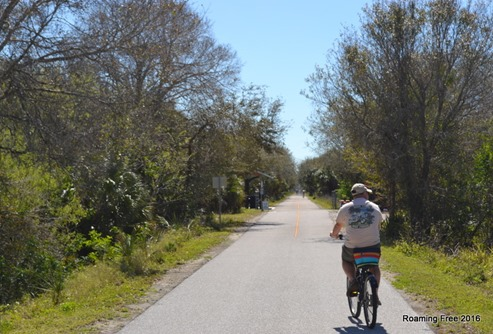 Setting out on the Legacy Trail from Sarasota