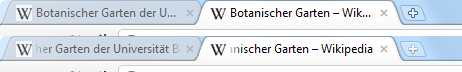 Chrome 11 vs 12 Tabs