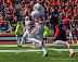 Cody Latimer #3 with a catch (NCAA Football: Illinois 17 vs. Indiana 31, October 27, 2012, Memorial Stadium, Champaign, IL)