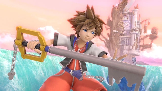 """Six years ago, fans were asked to vote for their most desired """"Super Smash"""" fighter, and the result was Sora. (Nintendo)"""
