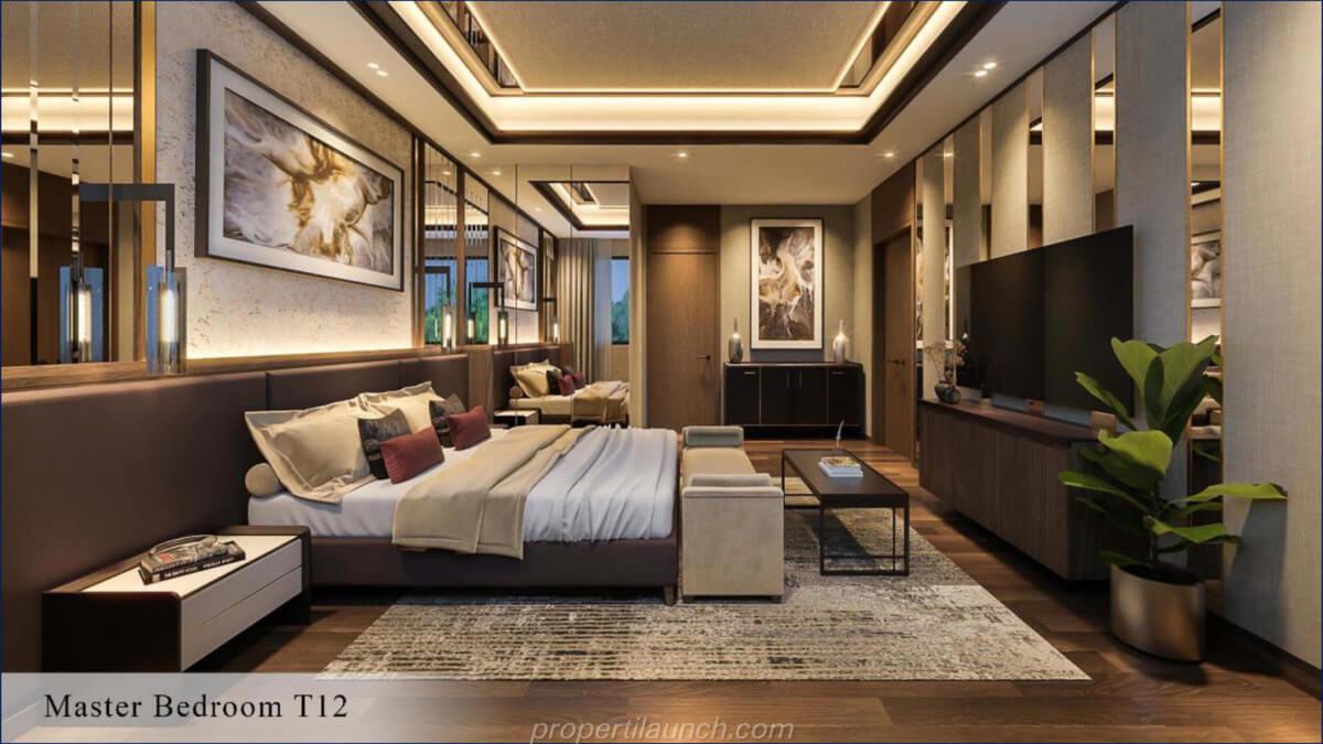 Master Bedroom Rumah Kiyomi Zora BSD Tipe 12