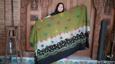 Motif Batik Corona